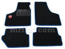 Fiat 500 600 Blue Abarth Floor Mats Set New