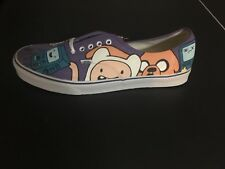 Custom Painted Adventure Time Vans Size 15