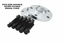 2pc BMW E39 5x120 I.D: 74.1mm 20mm Thick Wheel Spacers Fits: E39 Models Only