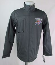 Oklahoma City Thunder NBA Gray Men's Full-Zip Therma Base Jacket