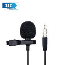 JJC SGM-28 Lavalier Microphone Clip Mic for 3.5mm Mobile Phone Apple Samsung