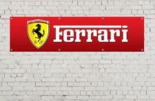 FERRARI Banner Officina, Garage, ufficio o showroom BANNER PVC