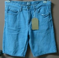 H87:New PULL & BEAR Denim Shorts for Men-Size 32