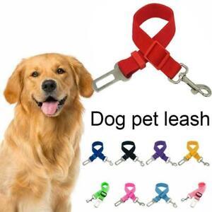 Seatbelt Leash Dog Pet Car Safety Belts Harness Collar Restraint Adjustable I3N3
