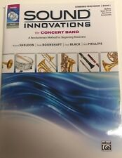 Sound Innovations for Concert Band Combined Percussion Book 1 Dvd/Mp3 Set