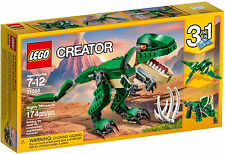 Lego Creator Dinosaur Models # 31058 (Sealed) (Very RARE New)  T.Rex, Stegasaurs