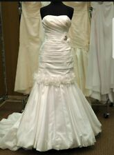 Tiffany Bridal wedding dress Size 6 New With Tags Detachable Skirt!