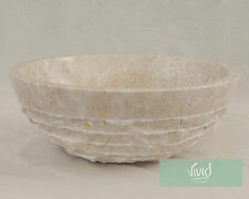 Marble Stone Bathroom basin by Vivid Stone 40cm Diameter 15cm High