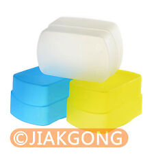 Blue+Yellow+white kit Flash Diffuser for HVL-F58AM
