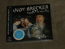 Randy Brecker Hangin' in the City Japan CD Hiram Bullock  Richard Bona