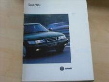 26975) Saab 900 engl. Prospekt 1993