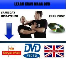 LEARN KRAV MAGA DVD LEARN SELF DEFENCE / STEP BY STEP