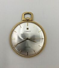 Tissot Stylist orologio da tasca laminato oro 18k 20 mic - anni 80