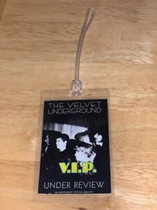 The Velvet Underground REPLICA Backstage Pass