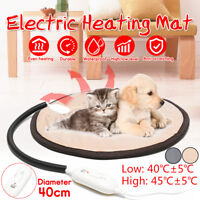 2 Gear Electric Heating Pad Heater Warmer Mat Bed Blanket Dog + Anti-Bite Hose