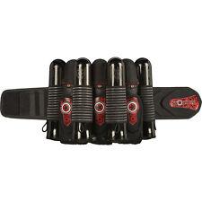 GI Sportz Race Harness - 3+4 - Black / Red - Paintball