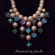 Crystal Gold Plated Handcrafted Necklaces & Pendants