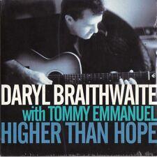 Daryl Braithwaite with Tommy Emmanuel Sealed Promo OZ CDS Higher than hope Sherb