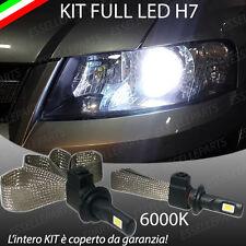 KIT FULL LED FIAT STILO LAMPADE LED H7 6000K XENON BIANCO GHIACCIO NO ERROR
