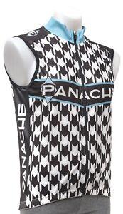 Panache Houndstooth Cycling Wind Vest Men XL 2XL 3XL Road Mountain Bike CX MTB