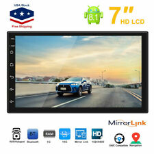 """Android 8.1 Car Stereo GPS Navigation Radio Player Touch Screen 2 Din WIFI 7"""" US"""
