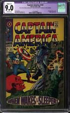 Captain America #101 CGC 9.0 Slight (C-1) Restoration (OW)