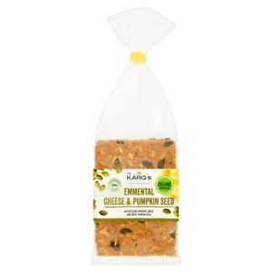 Dr. Karg Organic Emmental Cheese & Pumpkin Seed Crispbread 200g (Pack of 8)