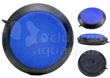 """5"""" Air Disk Weighted Bubble Stone Aquarium/Hydroponic Diffuser/Aerator Deep Blue"""