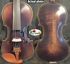 Strad style SONG Brand Maestro dark color violin 4/4.big sound #7863
