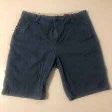 Roebuck And Co Men's Bermuda Shorts 34 Blue