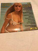 Erotic Cover Sexy Ingrid Steeger 12 Tops Todays Top Hits Vol.2 UK 60s LP