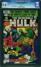 Hulk Annual #9 CGC 9.8 Marvel 1980 Avengers! Iron Man! Thor! WP! G11 962 1 cm