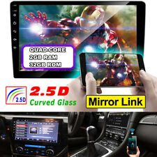 "Android 9.1 Car Stereo Radio 2DIN 10.1"" 1080P Touch Screen 2G+32G GPS Wifi 3G BT"