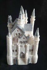 Silver Castle Cake Topper Fairy Tale Decoration Quinceanera Party Sweet 16 Favor