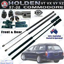 Bonnet Tailgate Gas Struts for Holden Commodore 97-08 Wagon VT VX VY VZ NEW