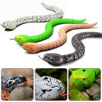 Realistic Remote Control Snake Rattlesnake Trick Toys Terrifying Props Random