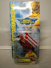 RAV (Raven) Red & Yellow TRANSFORMERS BEAST MACHINES Deployers 2000 Hasbro NIB