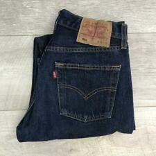 """Womens Blue LEVIS 501 28""""W 31""""L Vintage Mom Mum Boyfriend Fit Jeans 501s #C4277"""