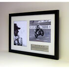 Barry Sheene MBE ? Framed tribute presentation