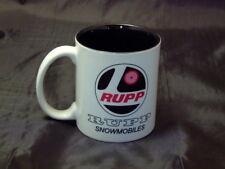 Reproduction Vintage Rupp Snowmobile Logo Coffee Mug
