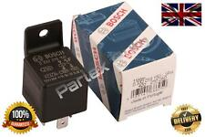 New Genuine Bosch Relay For Vauxhall Astra Zafira 98-05 5-Pin - 0332019150