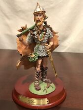 Duncan Royale Miniature Collection History Of Santa Claus Odin Figurine 6,5�T Po