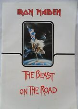 Iron Maiden 1982 The Beast on The Road Concert Tour Program Eddie Piece of Mind