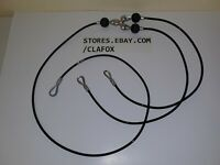 Bowflex Leg Cable Assembly For Many Models 3 Cables Attached To Center Bracket