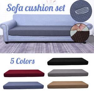 3-Sitzer Sofa Kissenzezug Stretch Elastisch Hülle Sofabezug Sitzauflage Bezu