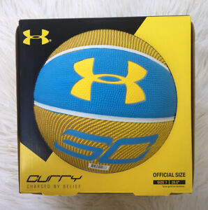 Under Armour Stephen Curry Official Size 7 Basketball Steph Curry Outdoor