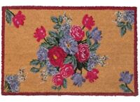Victorian Trading Co Spring's Darlings Floral Bouquet Doormat