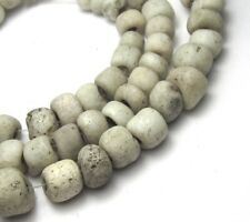 """15"""" STRAND OF 79 RARE OLD SMALL GRADUATED VENETIAN N.AMERICAN ANTIQUE TRADE BEAD"""