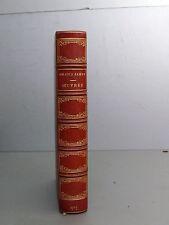 Amadys Jamyn Oeuvres Poétiques maroquin Eloge funebre de Brunet  1878 Ronsard