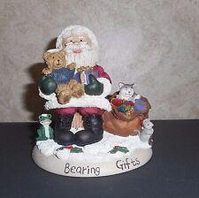 "Limited Edition #1932--©1998 Zingle-Berry™ ""Bearing Gifts"" Santa Figurine"